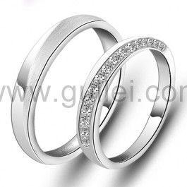 Name Inscribed Engraved Promise Rings for Girlfriend and ...