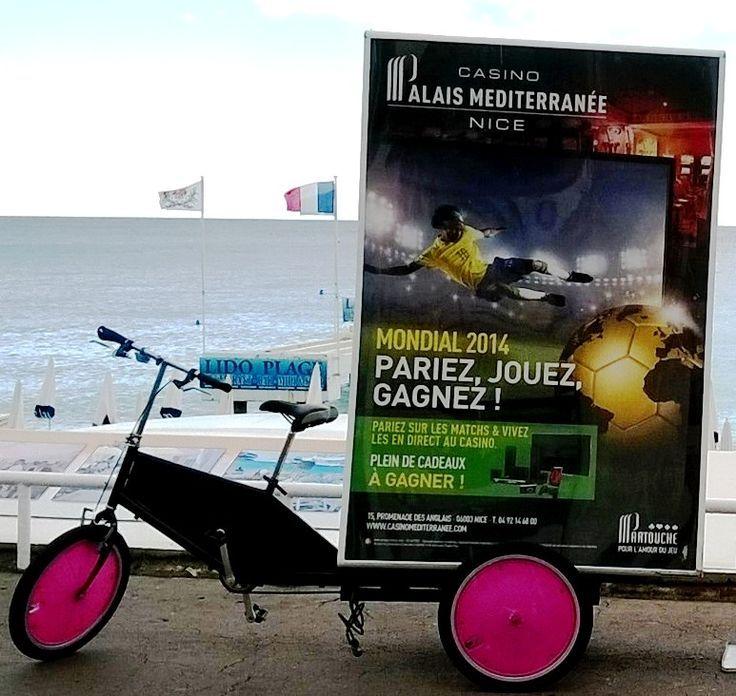 """Faites vos jeux: #cycle publicitaire pour le #Casino Partouche """"Palais de la Méditerranéenne"""""""