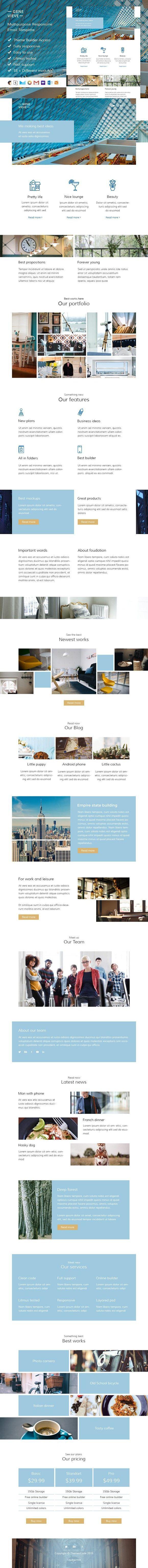 Mejores 139 imágenes de Email Templates en Pinterest
