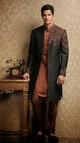 Groom Sherwani Collection By Indian Designer 2014