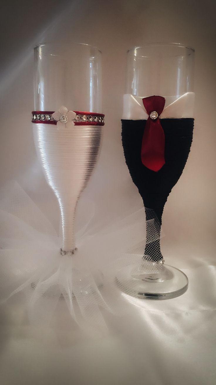 Copas para brindis de los novios boda