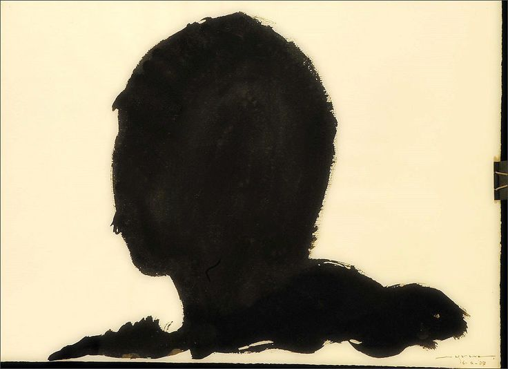 Hidetoshi Nagasawa · Self Portrait · 1987 · Private Collection