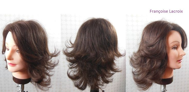 Coupe de cheveux femme dégradée | Medium length haircut with layers | Corte de pelo en capas| Je vous propose une coupe de cheveux mi-longue en dégradé. Medium length haircut tutorial for women with layers. Corte de pelo en capas para mujer, pelo medio largo.