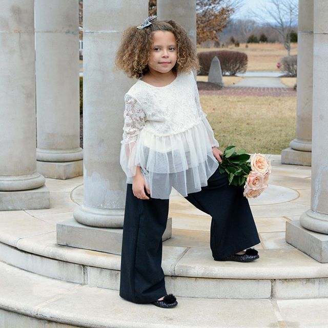 Something classic about a pair of black pants. Love this sweet pairing of our black linen look wide leg pants with a dressy white blouse.  #stitchedbygrandma #toddlerfashion #handmade #handmadewithlove #handmadeclothing #handmadeisbetter #shopsmall #shophandmade #supportsmallshops #supporthandmade #buyhandmade #etsian #etsyshop #etsyhunter #etsyusa #etsyprepromo #shopetsy #etsyfinds #etsyforall #etsyshopowner #etsystore #etsylove #ootd #momboss #handcrafted #womeninbusiness