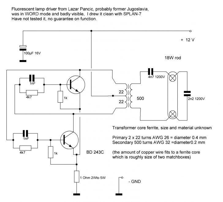 Cool Fluorescent Light Ballast Circuit 9 Fluorescent Light Ballast Capacitor Led Tube Light Tube Light Diagram