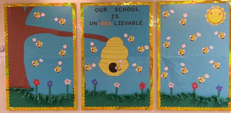 """Our school is un""""bee""""lievalbe"""