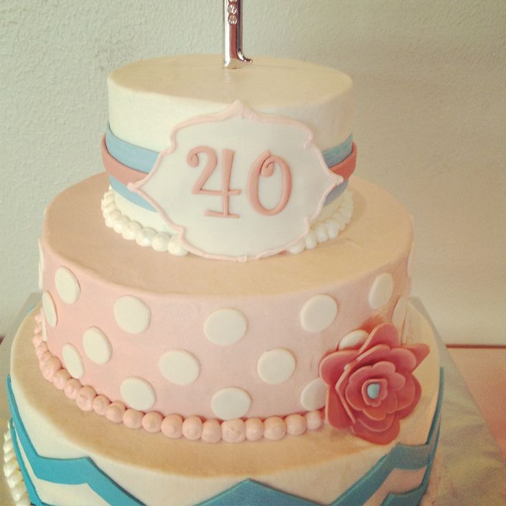 17 Best Images About 40t Birthday Cakes On Pinterest