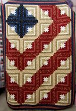 Log Cabin Americana Pattern – in 3 sizes