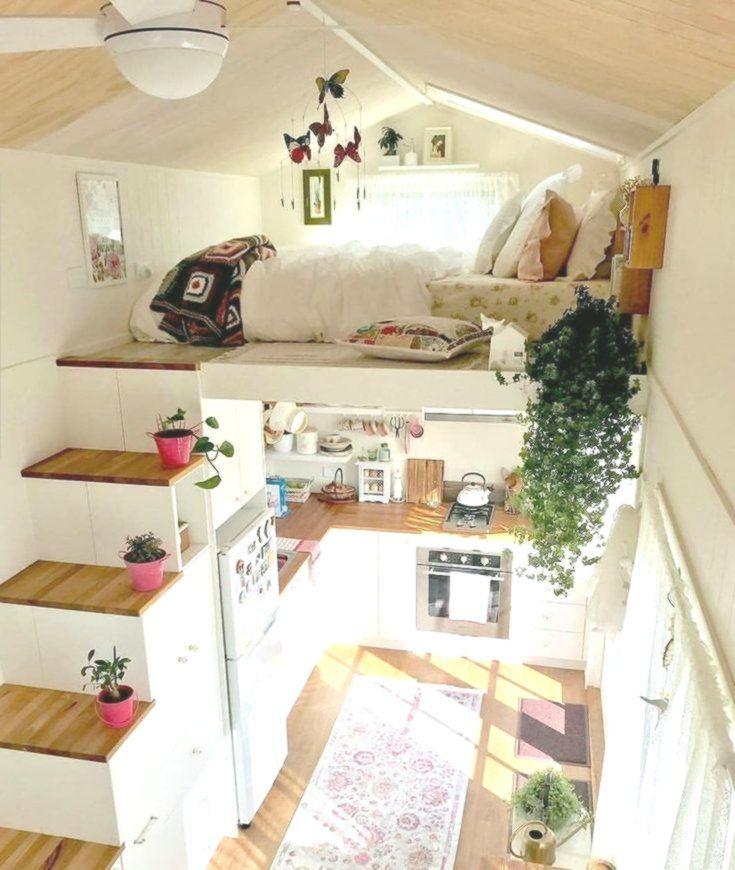 Keren Juga Kalau Interior Dibikin Seperti Ini From This Is A Beautiful Tin Beautiful Dibikin Ini Tiny House Decor Tiny House Design House Design