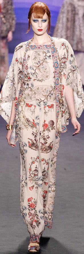 Anna Sui Fall 2014 Ready-to-Wear Fashion Show