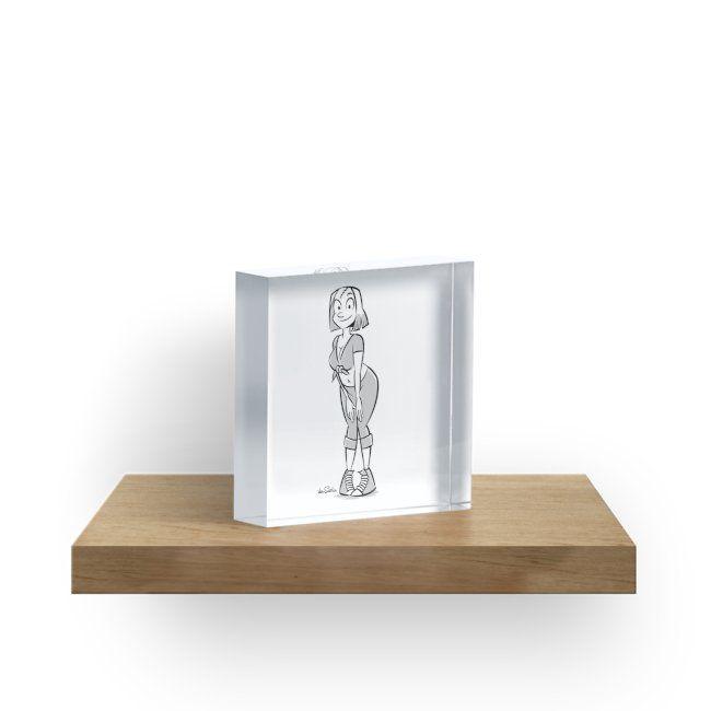 """The Pin-Up Block II"" Acrylic Blocks by J. van Santen | Redbubble"