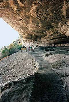 Seminole Canyon State Park, Texas. Read about this in Texas Monthly. Sounds like a really nice weekend trip.