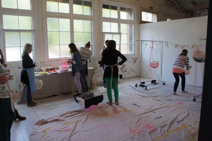 Harriet Goodall's Modern Basketry Workshop (The School) held at The Establishment Studios