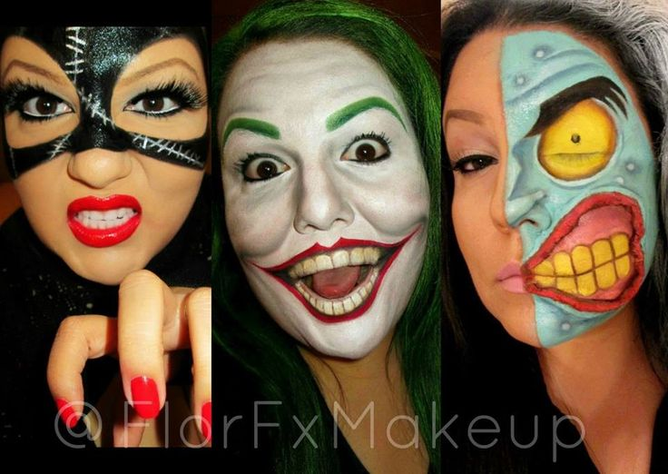 22 best Face Painting: Villains images on Pinterest | Make up ...