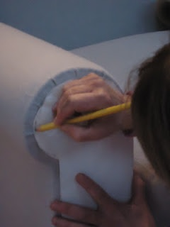 how to upholster a sofa by Powell Brower Home