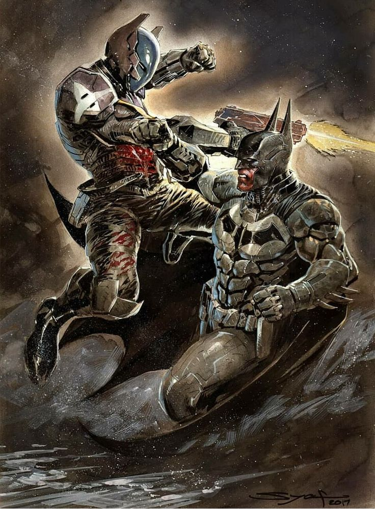 Batman Vs The Arkham Knight