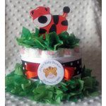 Baby Tiger Diaper Cake Centerpiece (2 Sizes)