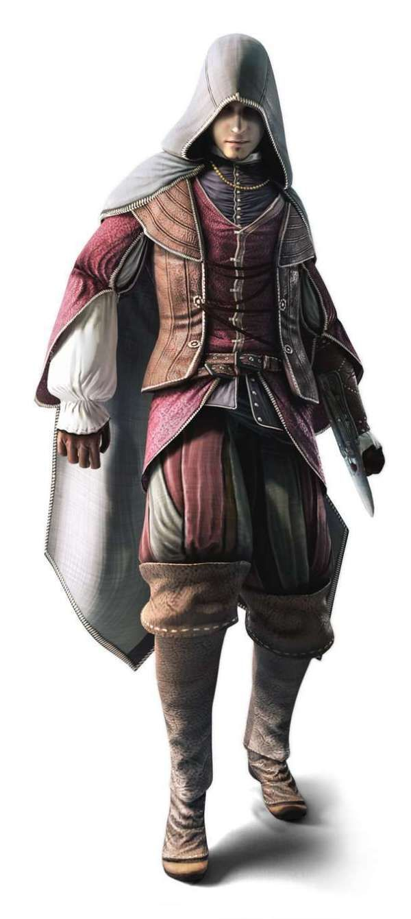 Assassin's Creed: Brotherhood multi-player character