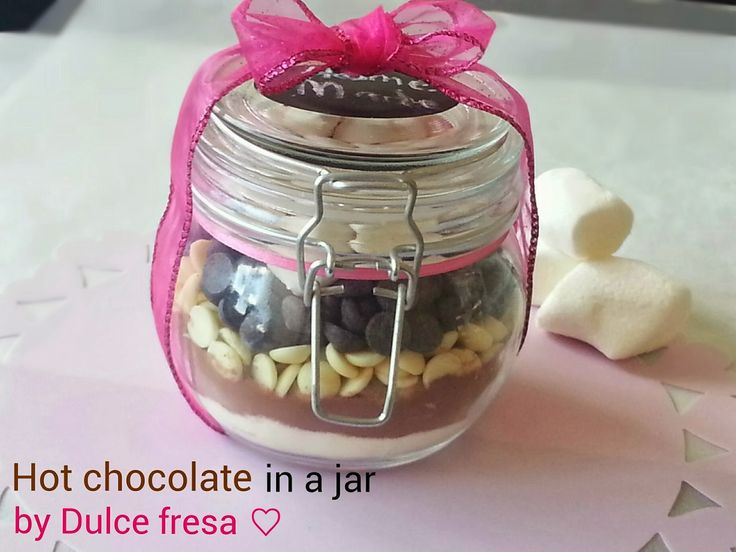 Dulce fresa: Warme chocolademelk in een pot