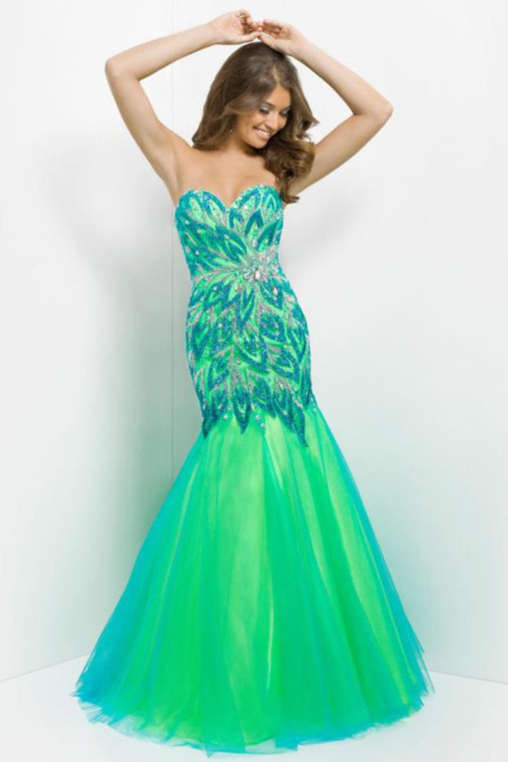 10  ideas about Lime Green Prom Dresses on Pinterest - Neon green ...