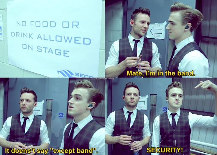 """'I'm in the band.."""""""