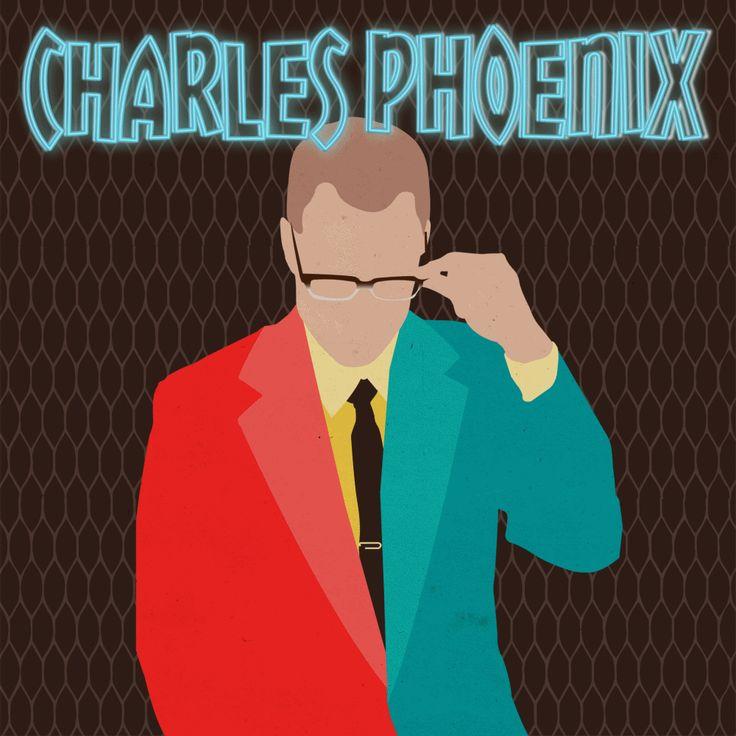The fabulous Charles Phoenix! || by Nefeli Tsalta