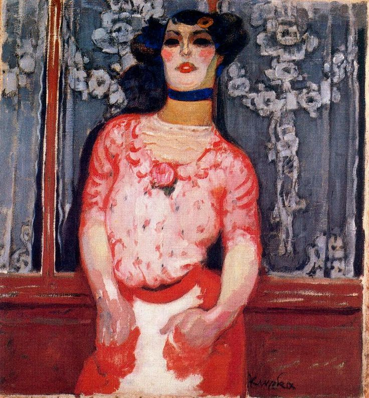 Frantisek Kupka - The Gallien Girl, 1910. Art Experience NYC www.artexperiencenyc.com