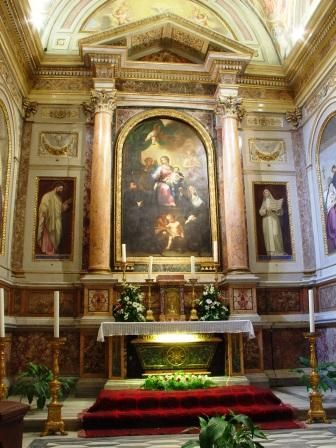 Tomb of St. Monica (Church of St. Augustine in Rome)