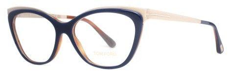 067ae50ae Tom Ford Eyeglasses FT 5374 090 shiny blue | Tom ford, Toms and Jets