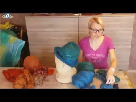 Валяние шляпки, Ирина Панова - YouTube