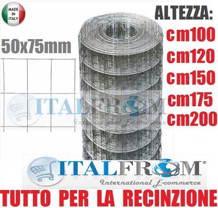 Dettagli su 25mt rotolo rete metallica zincata for Recinzioni bekaert