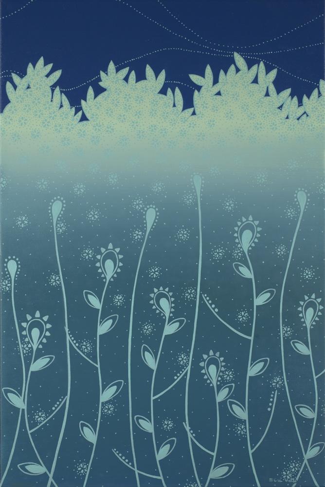 Elisa Viotto Arte . Baby Blu . 40 x 60 cm . oil on canavas . 2011
