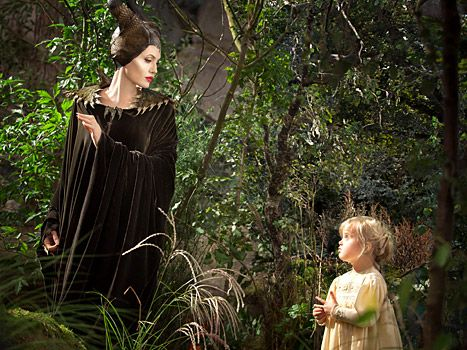"""How Disney came to cast Shiloh, Angelina Jolie's own daughter, in 2014's """"Maleficent."""" [This pin description was written by Libbi Diane Flynn]"""