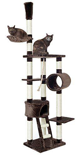 Aus der Kategorie Kratzbäume & -matten  gibt es, zum Preis von   <b>Hier können Ihre Katzen nach Lust und Laune Spielen und Entspannen.</b>  <br>  <br> Dieser opixeno Kratzbaum wurde extra für besonders große und schwere Katzen entwickelt.  <br> Aufgrund seiner besonders dicken (Ø=10cm) Sisalstämme und der 4cm starken Bodenplatte  <br> verfügt er über besonders gute Standfestigkeit und Stabilität.  <br>  <br>  <b>Besondere Highlights für ihre Katze</b>  <br> * Extra große Liegemulde Ø=40cm…