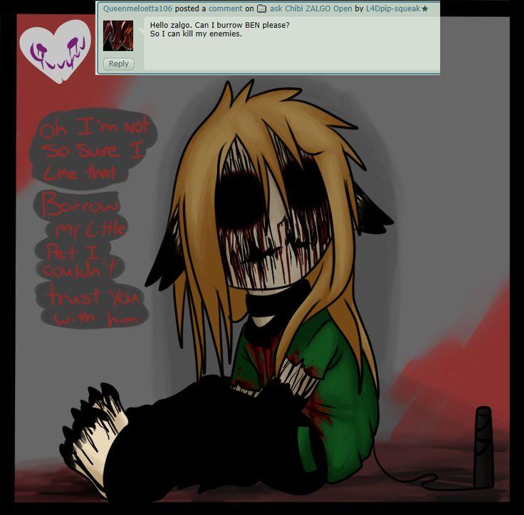 zalgo cant trust you... Creepypasta Lovers Pinterest