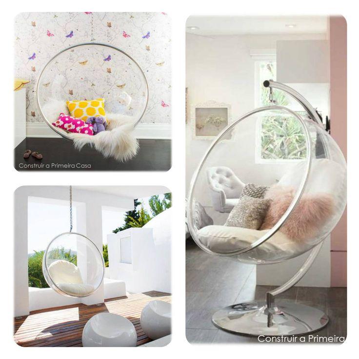 Lúdico. Neutro. Sofisticação. Modernidade - Seriam esses alguns adjetivos que descrevem as Bubble Chair.