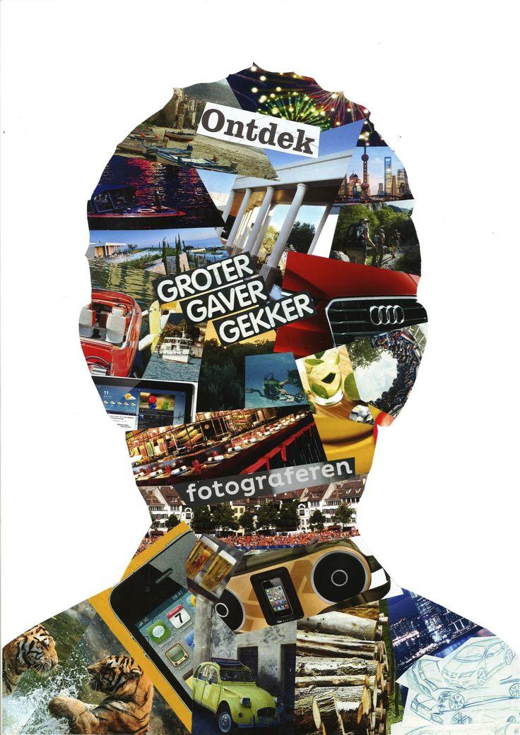 Collage jaar 1/2V Grafisch Vormgeven
