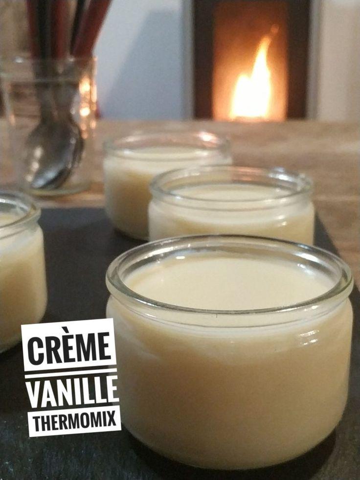 crème à la vanille ww thermomix - recettes de cuisine avec