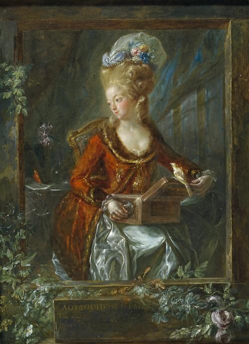 Luis Paret y Alcázar    Portrait ofMaría de las Nieves Micaela Fourdinier, the Painter's Wife (1782-85, Museo del Prado, Madrid)
