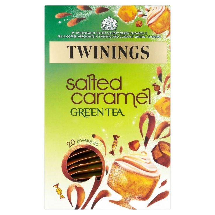 Twinings Salted Caramel Green Tea (20): Amazon.ca: Grocery & Gourmet Food