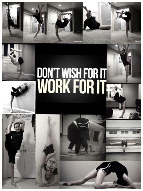 cheerleading flexibility inspiration