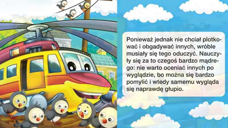 Bajka dla dzieci - Helikopter - Baśń