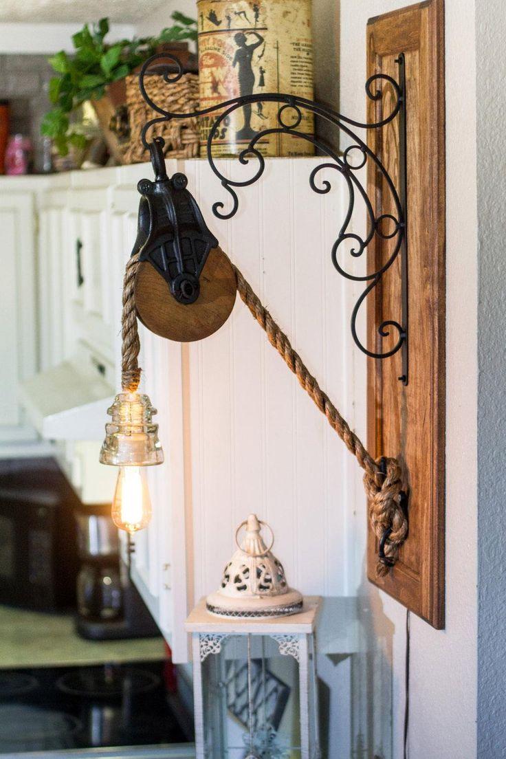A dangling display of brilliant design.