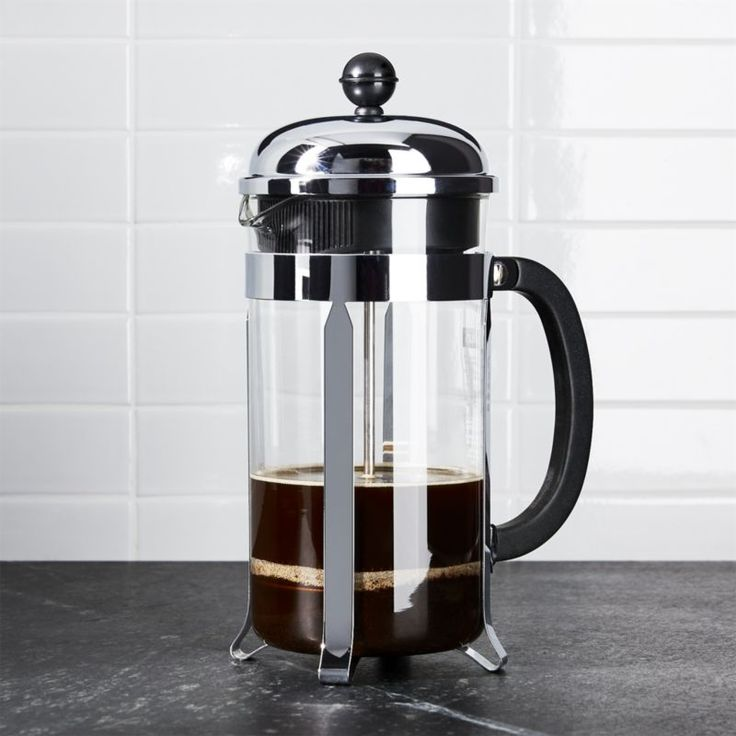 Shop Bodum ® Chambord 34 Ounce French Press.  An original, dome-topped Bodum French press coffee maker with contemporary flair.  The plunger-style brewing method results in fresh French press coffee revered for its rich, full-bodied character.