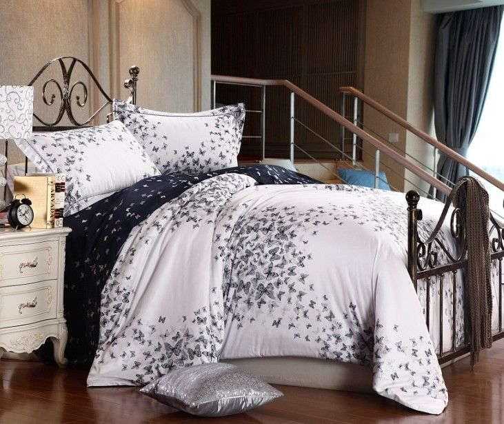 find more bedding sets information about butterfly luxury egyptian cotton bedding sets queen size quilt duvet