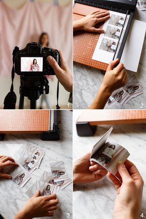 Flip book DIY para decir te quiero