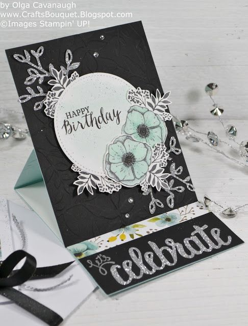 Crafts Bouquet: Stampin'UP! Amazing You Birthday Card and Gift Bag