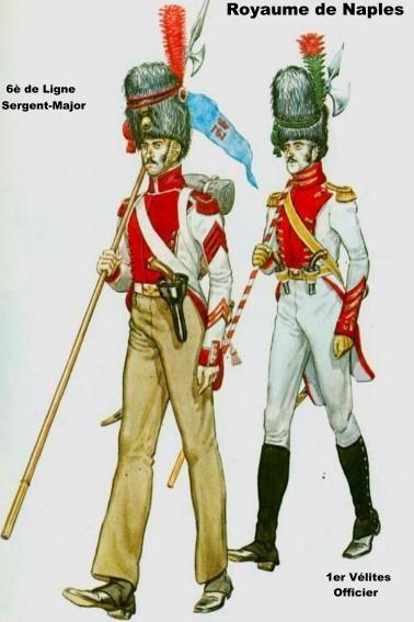 6è de Ligne & 1er Vélites - 1812