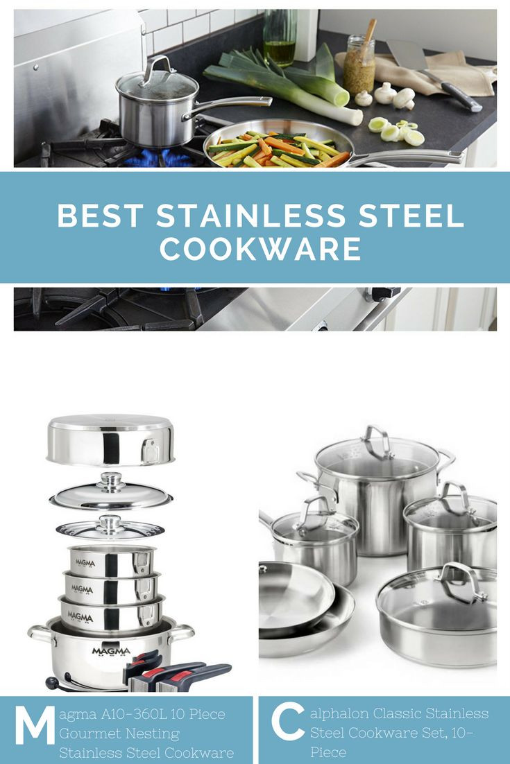The best stainless steel cookware has loads of features and benefits, and it will last for years. For those new to cooking, stainless steel is often considered the best of the best when it comes to cookware. It looks nice; it is durable and great for food taste qualities. The best stainless steel cookware is more expensive than other options, but it is well worth it and can last a lifetime. Visit: http://www.homekitchenaid.com/best-stainless-steel-cookware/