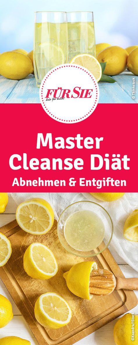 Mit der Master Cleanse Diät oder auch Fastenkur g…